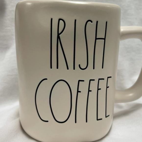 Rae Dunn IRISH COFFEE Mug